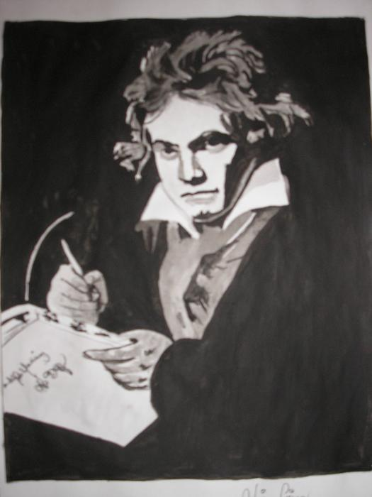 Ludwig van Beethoven by Coffee58